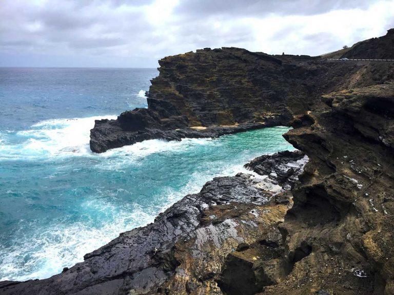 Oahu coast line