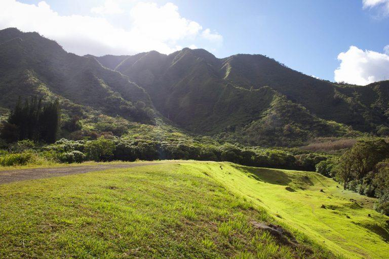 lulumahu falls oahu hawaii