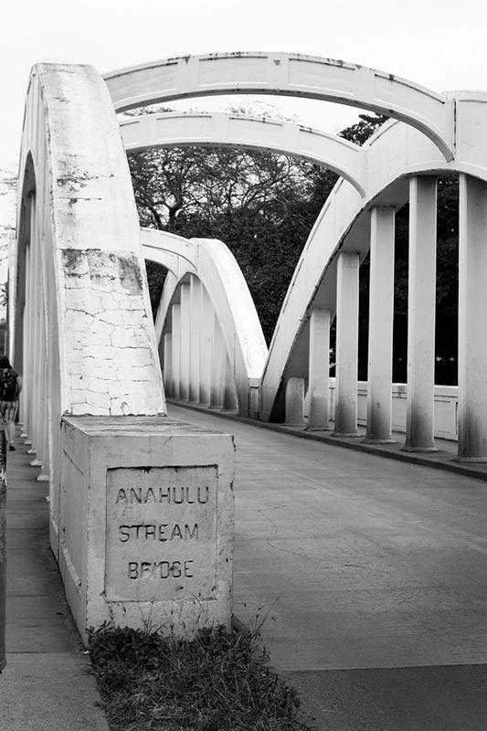 Halewai Oahu Bridge