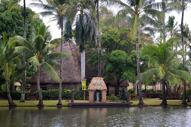 Polynesian culture center river tour