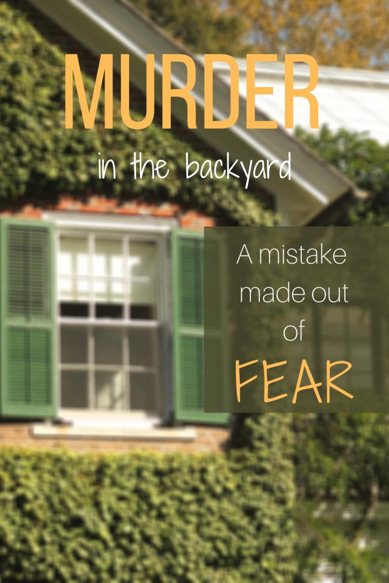 Mistakes made out of fear