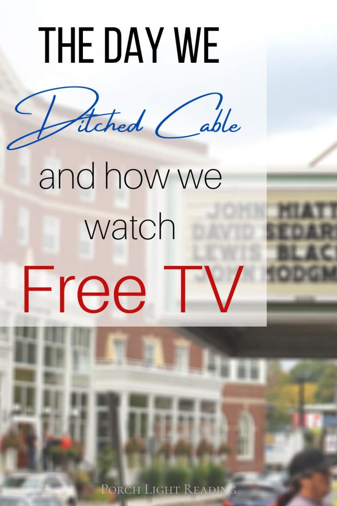 Ditch cable- how to get free tv