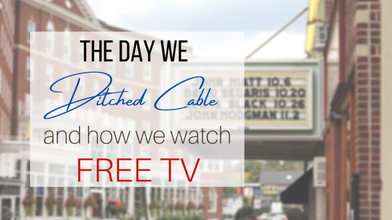 The day we ditched cable