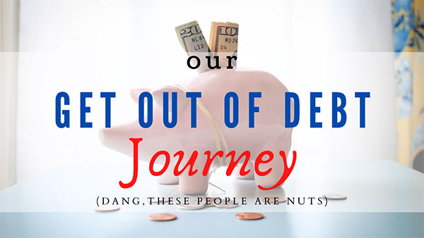 Get out of debt journey