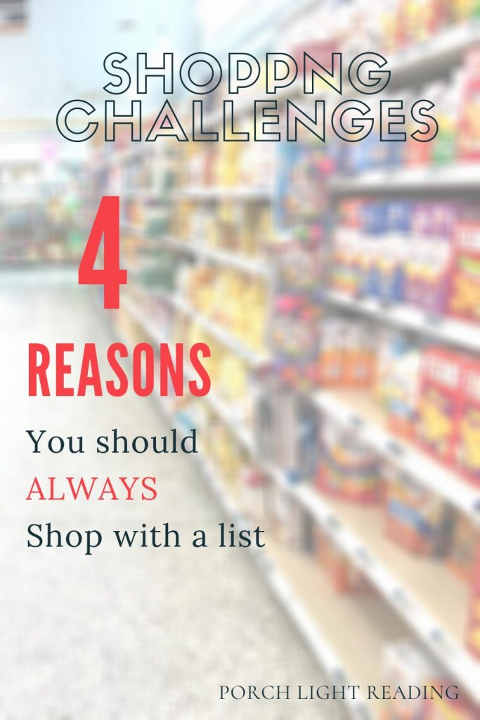 why you should always shop with a list