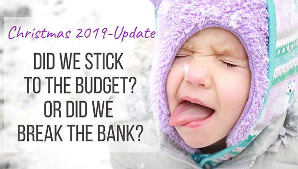 Get out of debt journey-christmas update-also