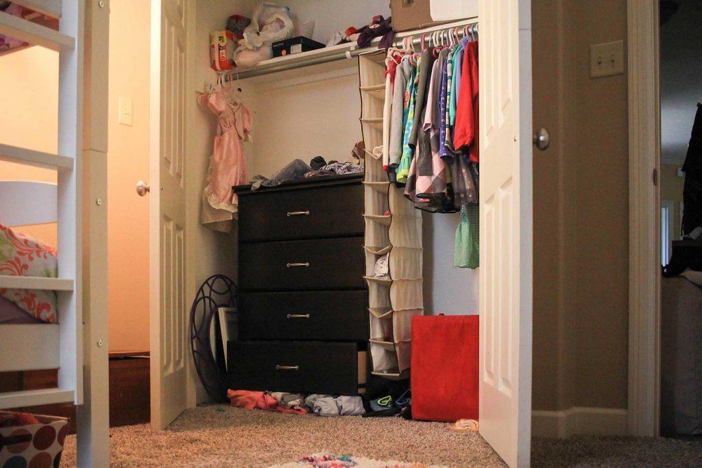 closet dollhouse makeover