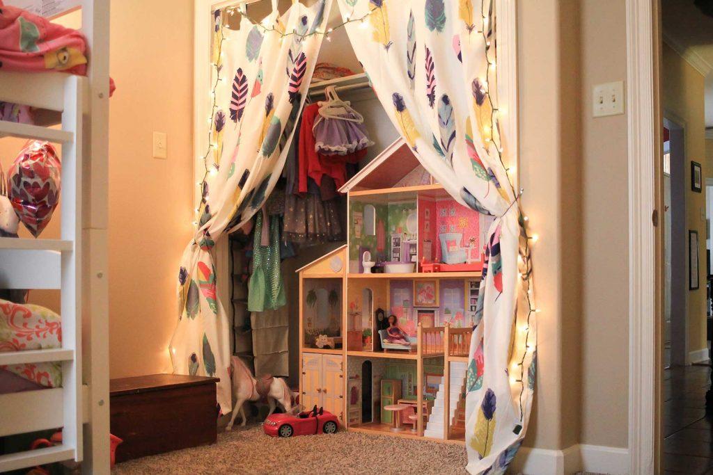 creative closet makeover idea