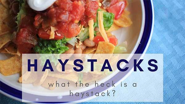Haystack recipe