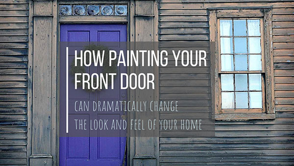 how to paint a metal door