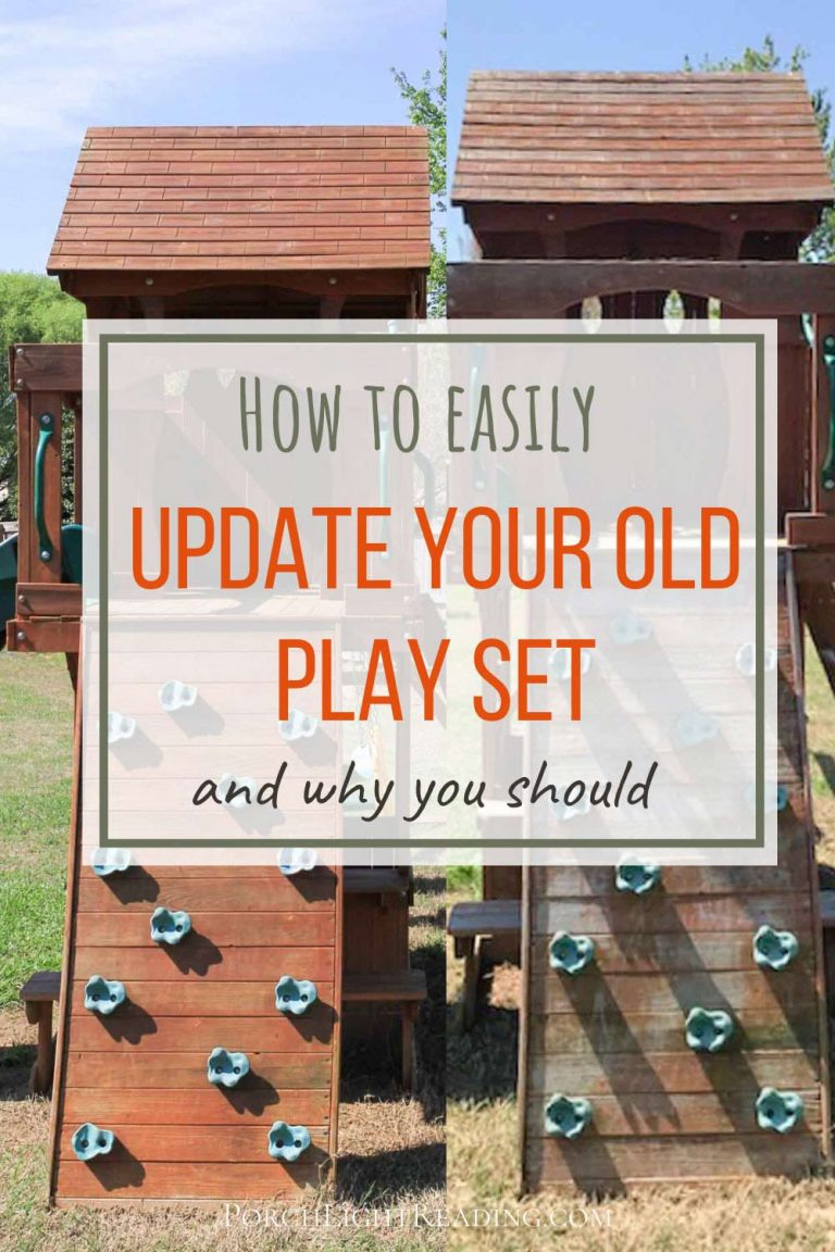 Updating your kids play set