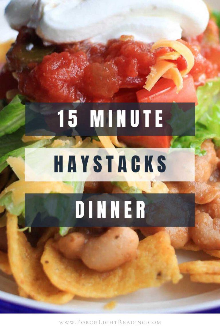 Haystack dinner