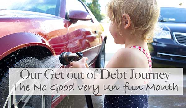 Get out of debt journey part 2
