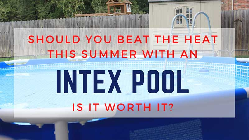 how to set up an intex pool and what to expect
