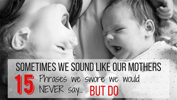phrases our parents use to say that we now say