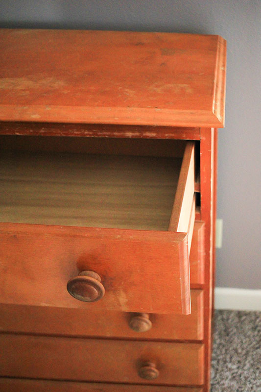 Dresser Makeover Beginners Guide to Chalk paint