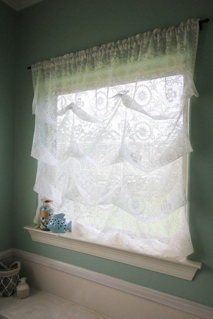 balloon curtains diy