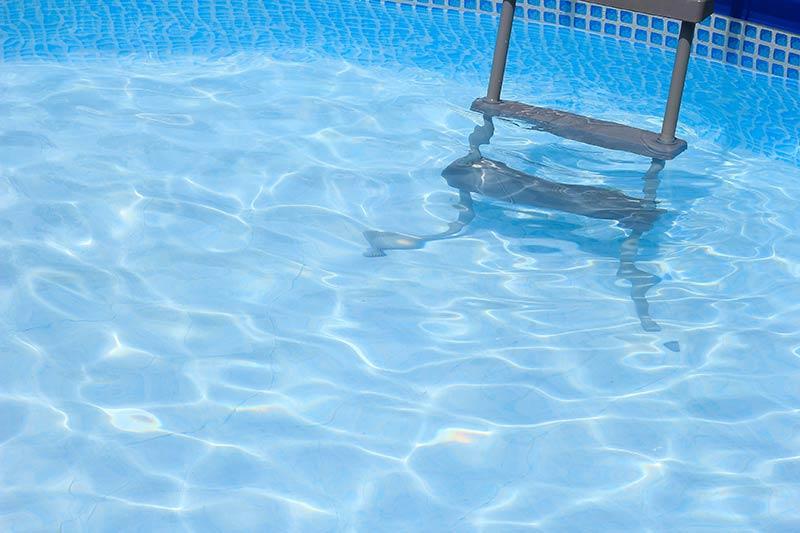 clean pool after vacuum