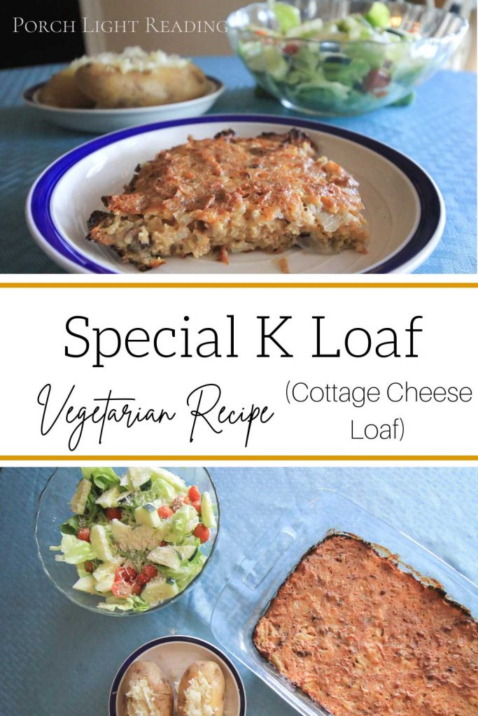 Vegetarian roast recipe make with Special K cereal