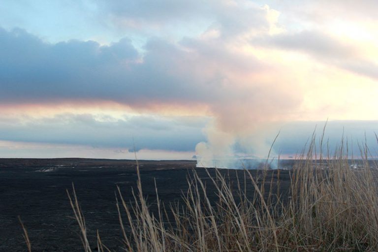 steam vent at hawaii volcanoes national park