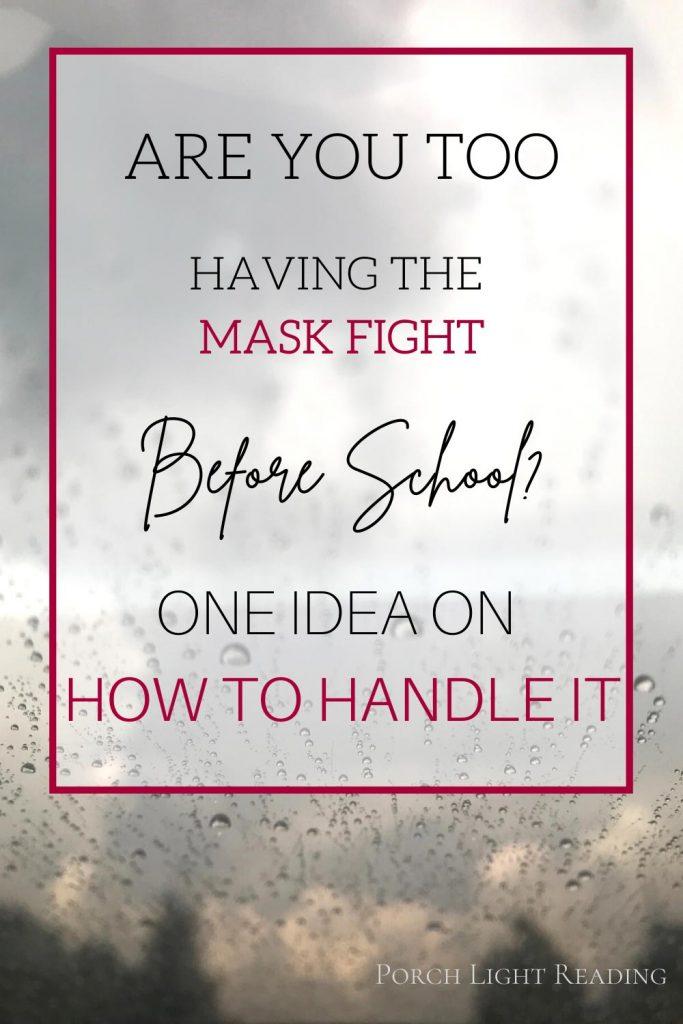 school mask fight