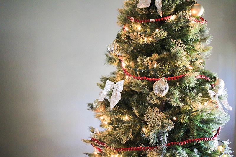 How to make a fake Christmas tree look more expensive