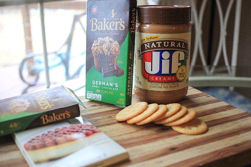 chocolate covered ritz cracker cookie ingredients