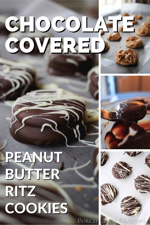 chocolate covered Ritz crackers