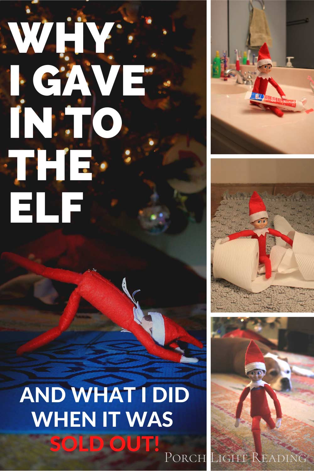 why we started elf on the shelf when our kids are older