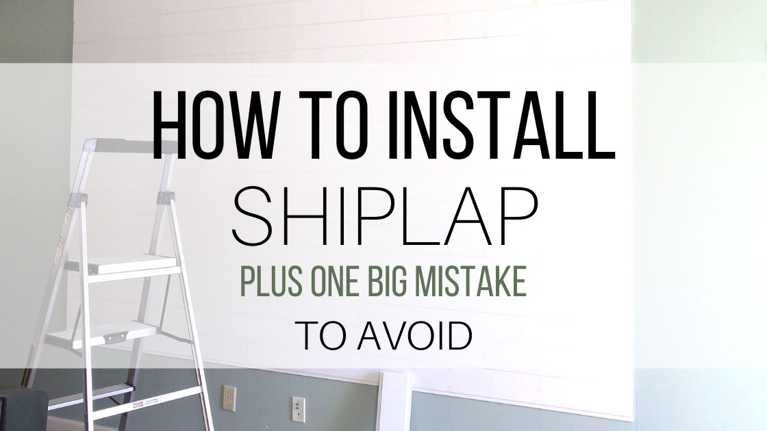 how to install shiplap tongue and groove