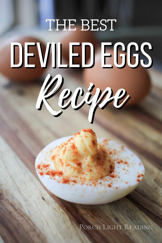 Delicious deviled eggs recipe
