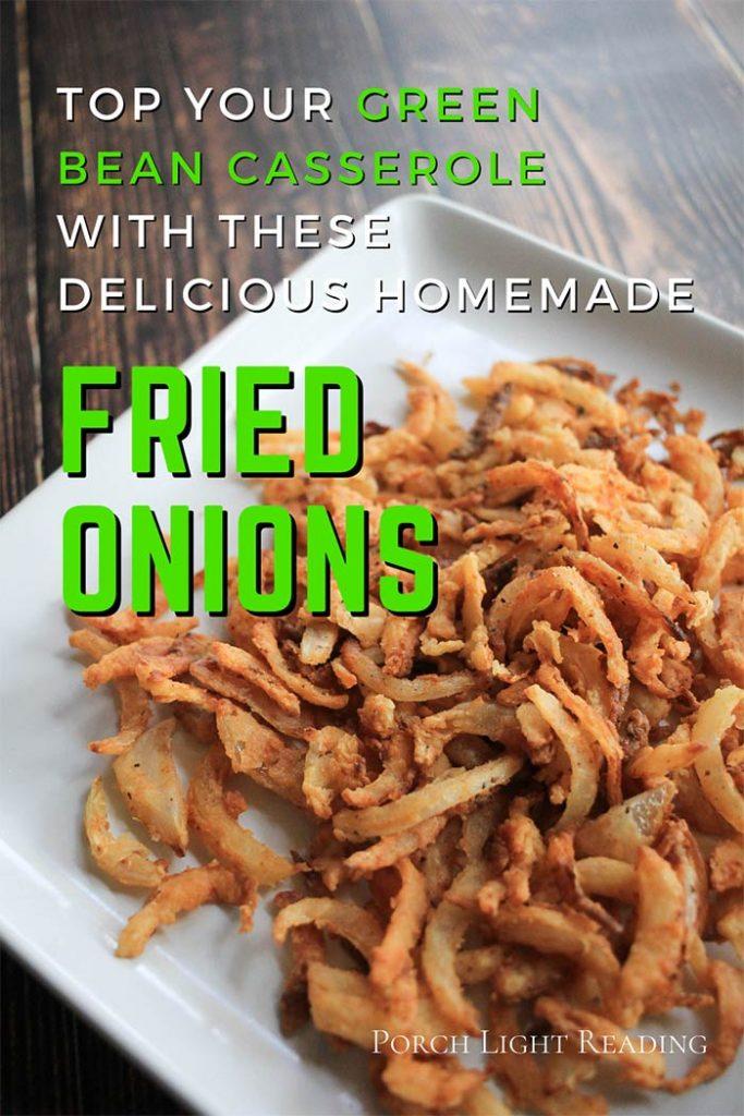 Fried onions recipe