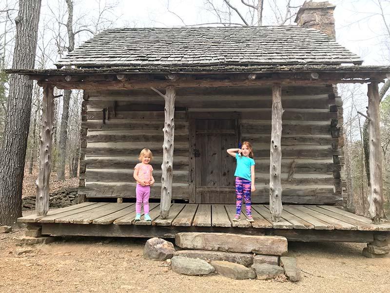 Old cabin homestead