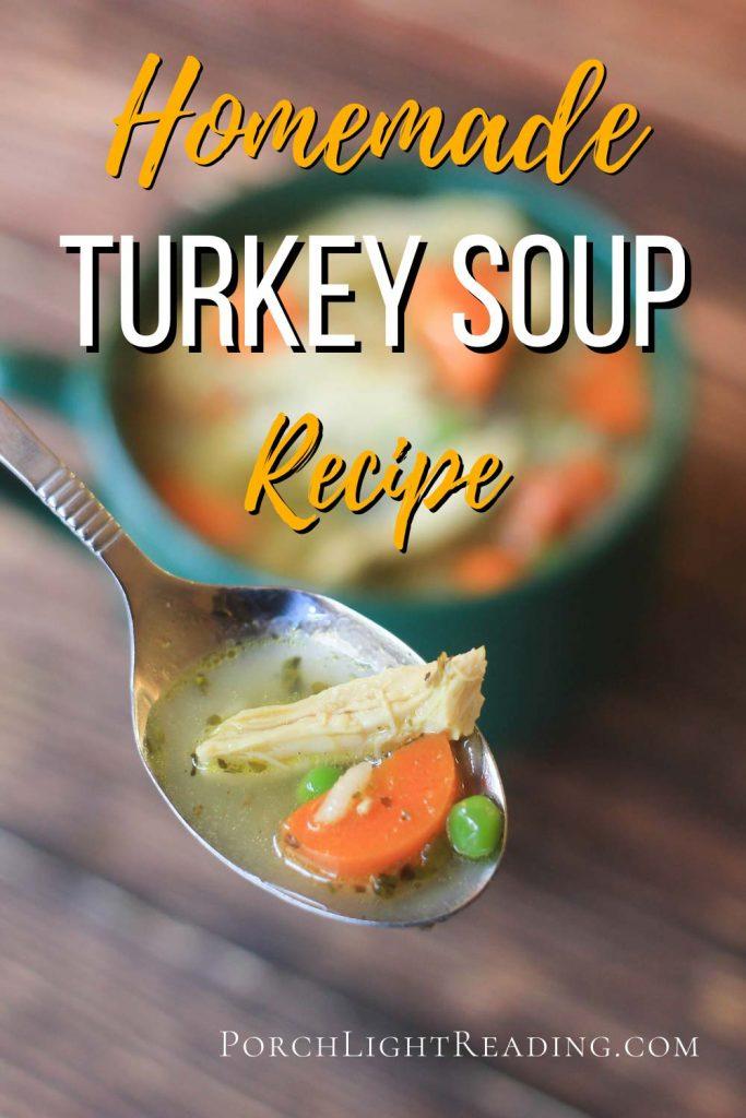 Turkey soup recipe