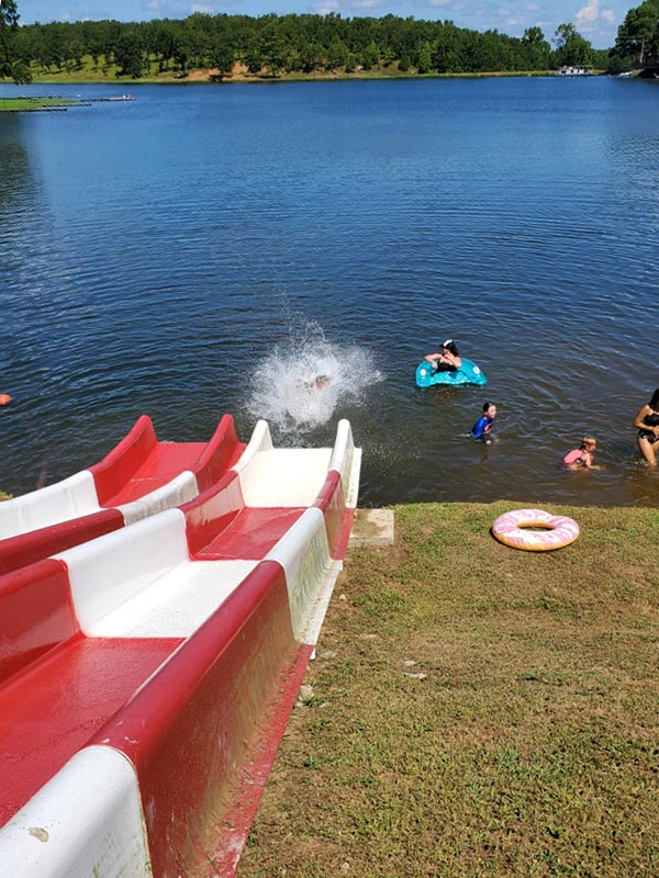 Indian lake swimming hole