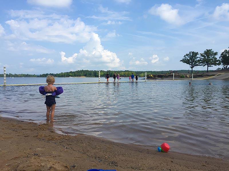 Swimming Heber Springs Arkansas