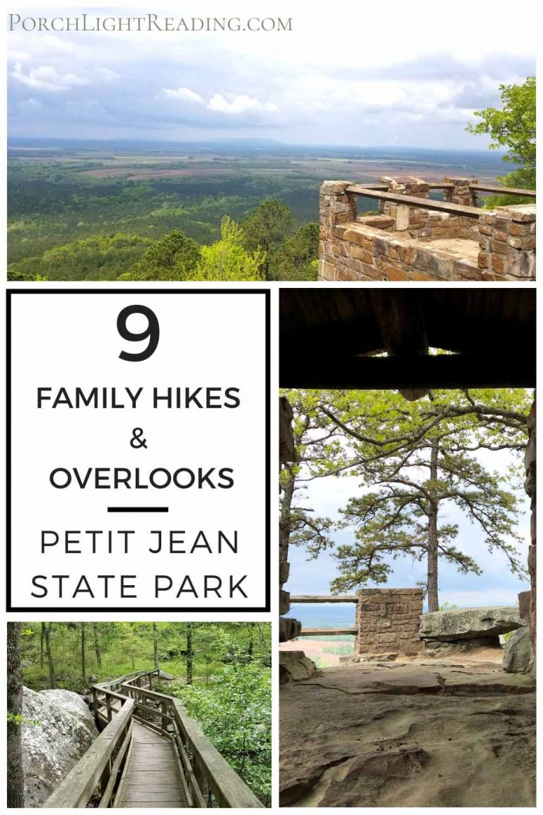 9 hiking trails and overlooks at petit jean state park arkansas
