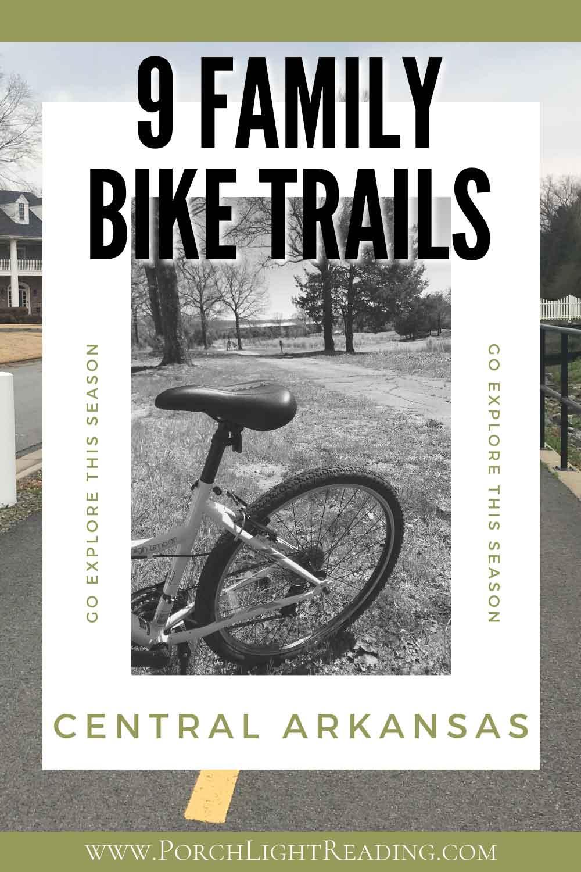 9 Arkansas bike trails for families