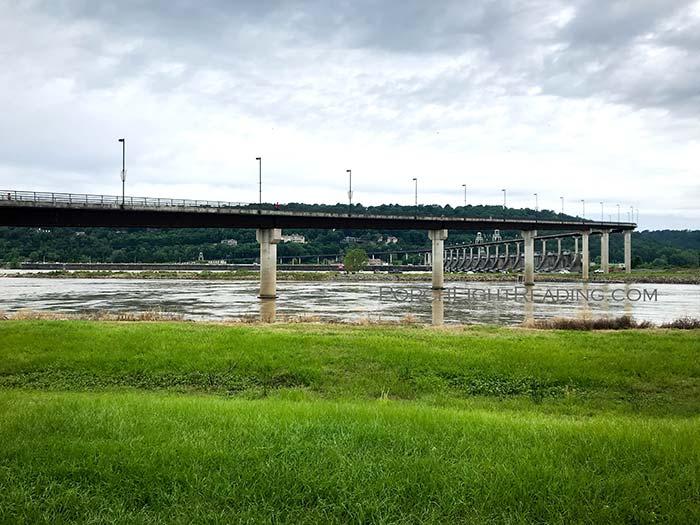View of Big Dam Bridge