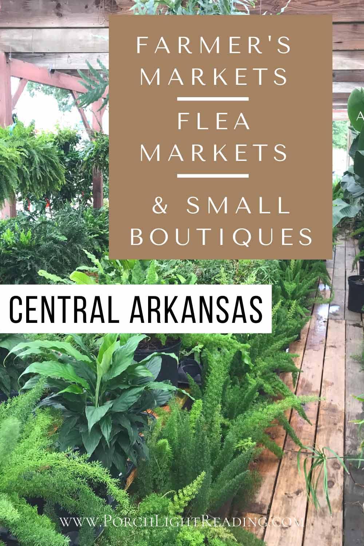 Arkansas farmers markets and flea markets