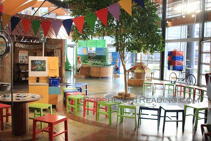 Inside Heifter Village interactive museum