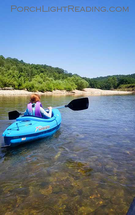 Kayaking down the Buffalo River