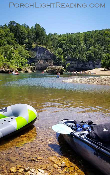 Swimming in the Buffalo National River Arkansas