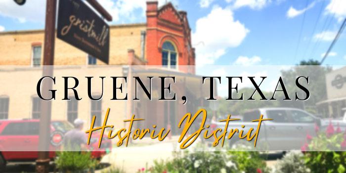 Gruene, Texas historic district